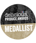 delicious produce award winner